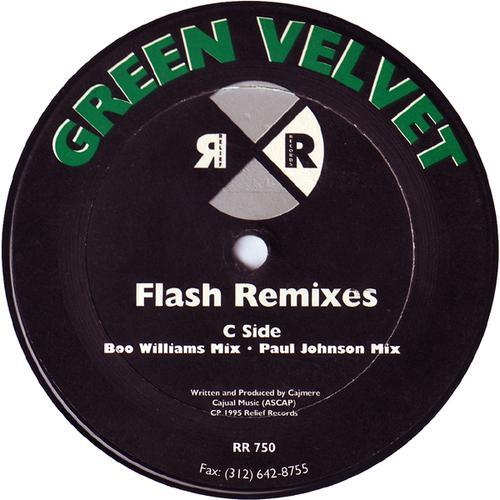 Green Velvet - Flash (Remixes) (1995) [FLAC]