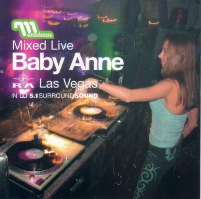 VA - Baby Anne - Mixed Live Club Ra, Las Vegas (2003) [FLAC]