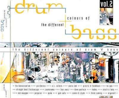 VA - The Different Colours Of Drum 'n' Bass Vol. 2 (1997) [FLAC]