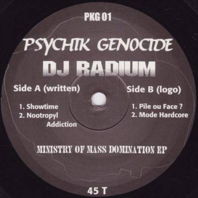 Radium - Ministry Of Mass Domination EP (1997) [FLAC]
