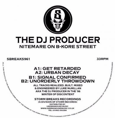 The DJ Producer - Nitemare On B-Kore Street (2015) [FLAC]