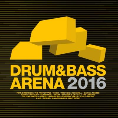 VA - Drum & Bass Arena 2016 [FLAC]