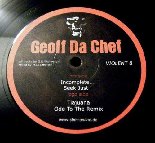 Geoff Da Chef - Incomplete....... (1998) [FLAC]