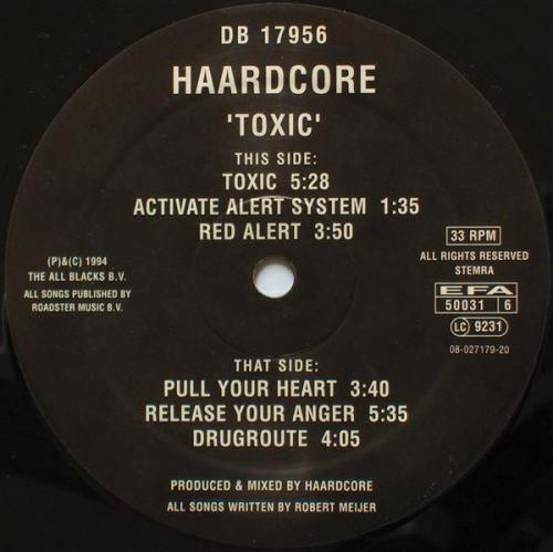 Haardcore - Toxic (1994) [FLAC]