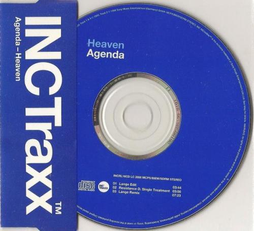 Agenda - Heaven (1999) [FLAC]