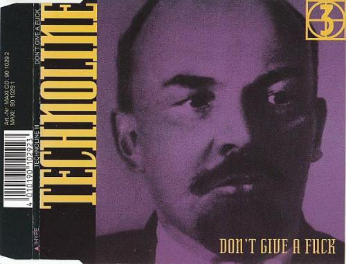 Technoline - Technoline 3 - Dont Give A Fuck (1991) [FLAC]