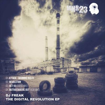 DJ Freak - The Digital Revolution EP (2017) [FLAC]