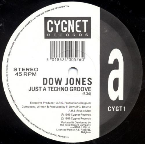 Dow Jones – Just A Techno Groove (1989)