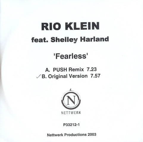 Rio Klein feat. Shelley Harland – Fearless CDR