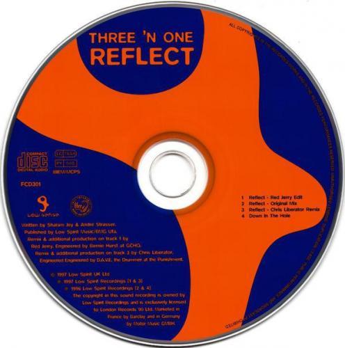 Three N One - Reflect (1997) [FLAC]