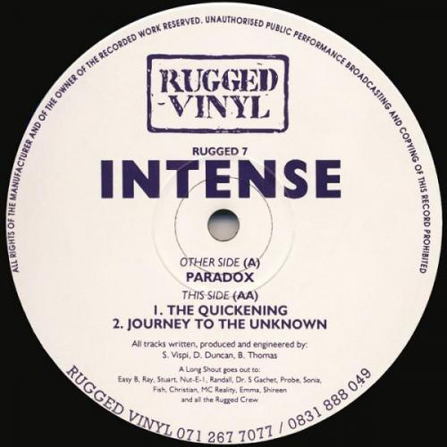 Intense - Paradox (1993) [FLAC]