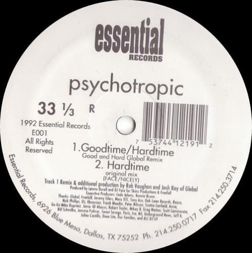 Psychotropic - Goodtime / Hardtime (1992) [FLAC]