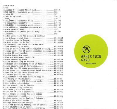 Aphex Twin - Syro (2014) [FLAC] lossless music Breakbeat