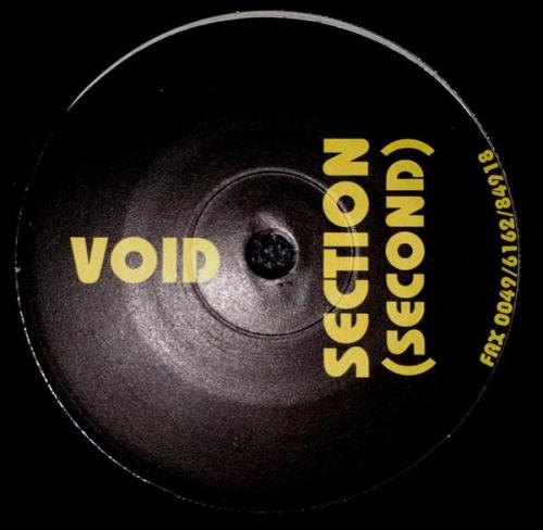 Void Section - Second (1993) [FLAC]