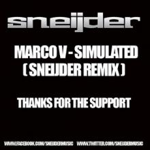 Marco V - Simulated (Sneijder Remix) (2013) [WAV]