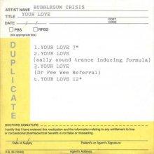 Bubblegum Crisis - Your Love (1996) [FLAC]