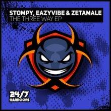 DJ Stompy & Eazyvibe & Zetamale - The Three-Way EP (2021) [FLAC]