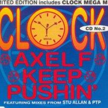 Clock - Axel F / Keep Pushin (1995) [FLAC]