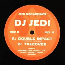 DJ Jedi -2016- Double Impact // Takeover (Jedi Recordings JEDI 15)